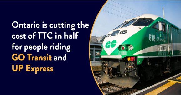 Go Transit Service Announcement